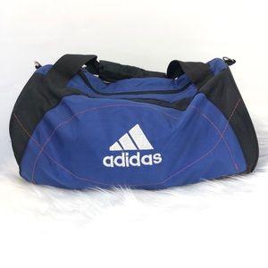 Adidas Small duffle gym bag travel size Velcro